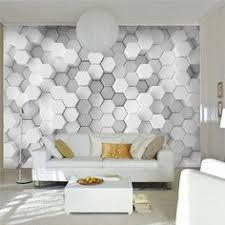 Geometric <b>wallpaper</b> living <b>room</b>, <b>Wall wallpaper</b>, Geometric ...