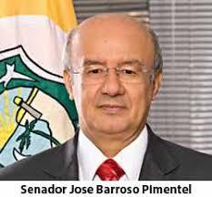 Resultado de imagem para SENADOR JOSE PIMENTEL BARROSO