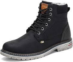 Mishansha Mens Womens Winter Anti-Slip Leather ... - Amazon.com