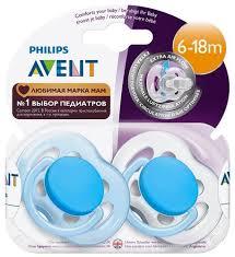 Купить <b>Пустышка</b> силиконовая анатомическая <b>Philips AVENT</b> ...