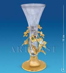 Купить AR-1230 <b>Ваза</b> с цветочками (Юнион) crystal temptations в ...