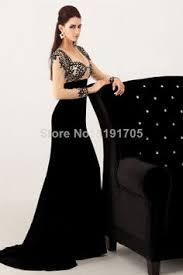 2014 New style handmad top <b>sexy v</b>-<b>neck</b> backless black mermaid ...