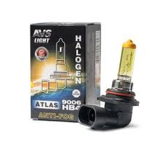Галогенная <b>лампа AVS ATLAS ANTI-FOG</b> BOX желтый HB4 ...