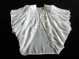 Womens Robe <b>Victoria's Secret</b> M Angel Sleeves Vintage Sheer ...