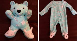 Turn <b>Baby's Clothes</b> Into Keepsake Memory Bears - Simplemost