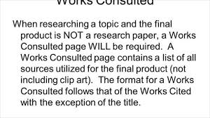 difference between works cited and works consulted difference between works cited and works consulted