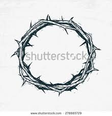 <b>Crown</b> of thorns Jesus Christ. Sketch, handmade | Лавр тату, Тату ...