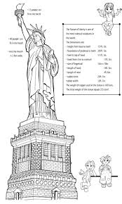 statue of liberty before it was green fun fact the statue of statue of liberty activities worksheets earthcam from the statue of liberty