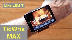 <b>TICWRIS MAX</b> (Like LEMFO LEM T) 2.86 Screen 2880mAh 8MP ...