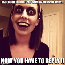 Zombie Overly Attached Girlfriend Meme - Imgflip via Relatably.com