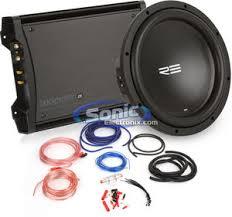300w re audio srx12d4 sub kicker zx300 1 amplifier kit 300w re audio kicker bass bundle