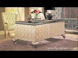 awesome aico office furniture 5 aico michael amini hollywood swank crystal caviar desk home awesome office furniture 5