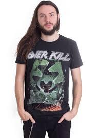 <b>Overkill - The Grinding</b> Wheel - T-Shirt - Official Metal Merchandise ...