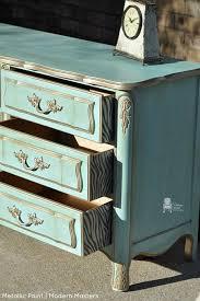 modern painted furniture. warm silver metallic paint by modern masters painted furniture vintage charm restored