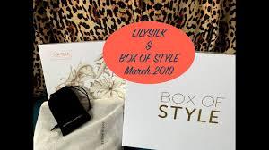 Lily <b>Silk</b> & Box of Style - March <b>2019</b>: Unboxing <b>Luxury Brands</b> ...