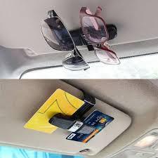 Online Shop <b>ESPEEDER Car Sun Visor</b> Sunglasses Holder Car ...
