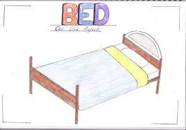red zone one word project bed these are two bed drawings that i ve done so far the first one is just a front cover page that i do for all my projects the second one is a drawing