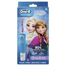 Oral-B <b>Kids Electric Toothbrush</b> Featuring Disney's Frozen with 2 ...