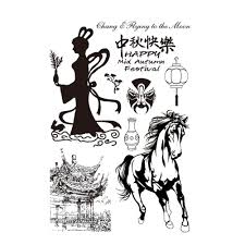 various festivals silicone clear stamps