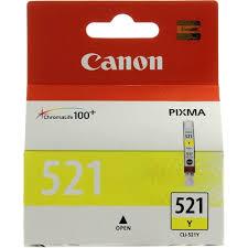 Оригинальный <b>картридж Canon CLI-521Y</b> (желтый) Желтый ...