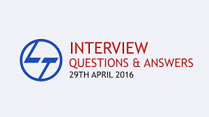 10 interview questions answers l t interview larsen toubro 10 interview questions answers l t interview larsen toubro