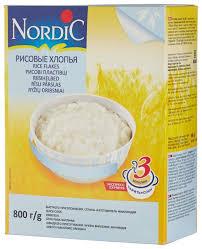 <b>Nordic Хлопья</b> рисовые, 800 г — купить по выгодной цене на ...