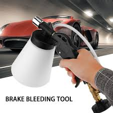 Universal <b>Car Pneumatic Brake</b> Bleeding Tool Brake Clutch Fluid ...