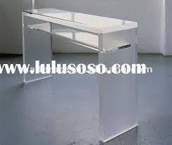 modern acrylic desk lucite office table acrylic office desk