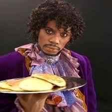 We love this Prince doc, more than he loves pancakes. | Battle of ... via Relatably.com