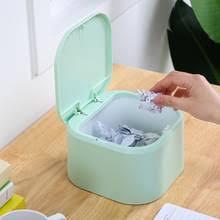 Мини-пластиковый <b>настольный</b> офисный <b>контейнер для мусора</b> ...