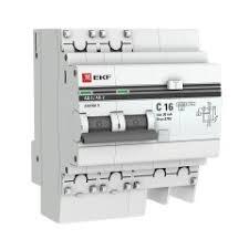 <b>Дифференциальный автомат</b> АД-<b>2 16А</b>/ 30мА (хар. C, AC ...