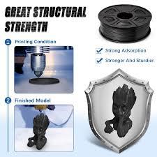 ABS Filament 1.75mm, ABS 3D Printer Filament Black ... - Amazon.com