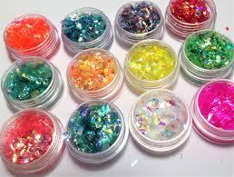<b>12 Boxes</b> / Iridescent Candy nail art <b>Unicorn</b> Crushed maylar ...