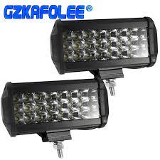 Gzkafolee <b>7 inch 6000K</b> Spotlight Led Work Light Bar Waterproof ...