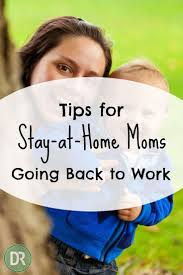 tips for stay at home moms going back to work debt roundup