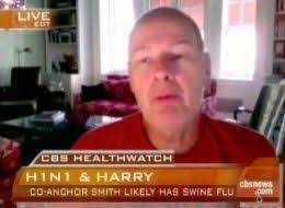 """CBS """"Early Show"""" co-anchor Harry Smith is home sick — and he likely has swine flu. - s-HARRY-SMITH-large"""
