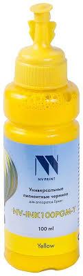 <b>Чернила NV</b>-INK100 универсальные Yellow пигментные для ...