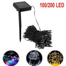 100/<b>200 LED</b> 12/<b>22M 8</b> Models Outdoor Colorful Solar Lamps LED ...