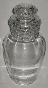 vintage 12 14 ginger jar form glass store candy jar apothecary antique furniture apothecary general store candy