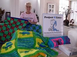 project linus quiltshopgal and i was recently able to meet ursula who is the lead for the san diego chapter ursula has many blanketeers aka volunteers to