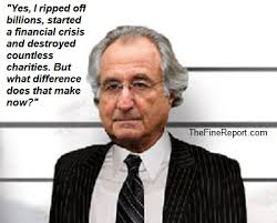 """Bernard Madoff adopts the Hillary Clinton """"what difference does that make now?"""" defense. Published on January 24, 2013, by Editor in Uncategorized. - e34e884443030f54401e40b3f676b460"""
