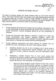 concept schools horizon science academy cleveland high school career advising policy signed page 1