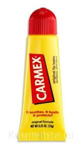 Классический <b>бальзам для губ</b> в тубе <b>Carmex</b> Original Lip Balm ...