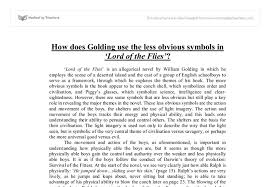 lord of the flies and lost essay   essays on the place of computer    lord of the flies essay examples