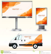 template outdoor advertising or corporate identity on the car template outdoor advertising or corporate identity on the car billboard and citylight royalty