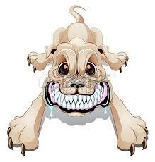 Bildresultat för morrande hund