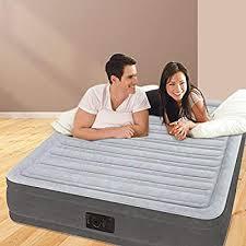 <b>Intex</b> Dura-Beam Comfort Plush <b>Mid Rise Air Bed</b> Double (Full) Size ...