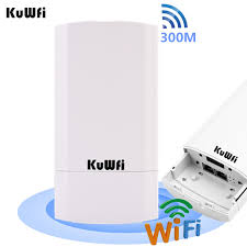 Online Shop <b>KuWFi</b> Outdoor <b>Wifi Router 300Mbps Wireless</b> ...