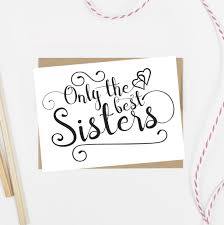 only the best sisters get promoted to bridesmaid card alluringprints only the best sisters get promoted to bridesmaid card