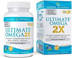 Nordic Naturals <b>Ultimate Omega 2X</b> Softgels, 2150 mg,60 Capsules ...